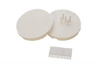"3"" MINI HONEYCOMB BOARDS-SET OF 2 W/20 CERAMIC PINS