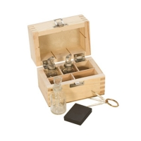 Gold Test Kit with Glass Bottles, 8 Piece Set||TES-810.00
