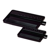 Sorting Tray, Black, 4-1/2 by 2-1/2 Inches||TRA-120.01