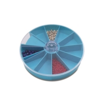 Round Compartment Tray, 10 Extra Deep Compartments||TRA-177.00