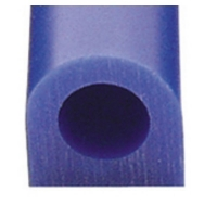 Carving Wax Ring Tube, Small Flat Side Tube, Blue||WAX-321.10