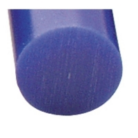 Carving Wax Ring Tube, Large Round Solid Bar, Blue||WAX-321.90