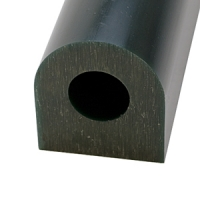 Carving Wax Ring Tube, Extra Large Flat Side Tube, Dark Green||WAX-322.40