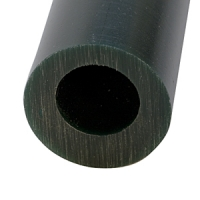 Carving Wax Ring Tube, Large Round Off-Center Hole Tube, Dark Green||WAX-322.70
