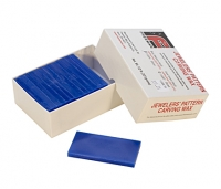 Freeman Carving Wax Block, Blue, Medium Hard, 1/2 Pound, Sliced||WAX-331.25