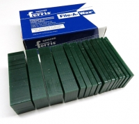 Freeman Carving Wax Block, Dark Green, Hard, 1 Pound, Sliced||WAX-332.20